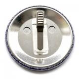Buttonrohmaterial mit  Clip 59 mm Ø