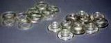 Kunstoffösen klar,  für Handhebelpresse  Platinum DUO, EASY AIRP