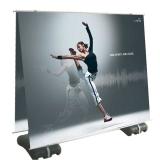 Großformat Falt-Display 2400 x 2000mm Doppelseitig
